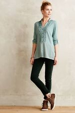 Anthropologie Meadow Rue Reha Henley Carbon Large