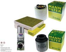 MANN-FILTER Paket + Presto Klima-Reiniger für VW Polo 6R 6C 6R_ Ibiza V