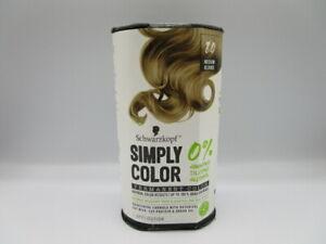 Schwarzkopf Simply Color Hair Permanent Color 8.0 Medium Blonde