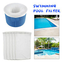 20 Pack Pool Skimmer Socks Savers for Baskets and Skimmers Fine Mesh top