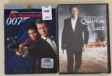 JAMES BOND DVD Set of 2 Movies DIE ANOTHER DAY, QUANTUM OF SOLACE Brosnan, Craig