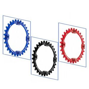 104BCD MTB Chainring Round Narrow Wide Chain Ring 30T Crankset Sprocket Plate