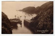 More details for channel islands, sark, creux harbour, steam ship, rp