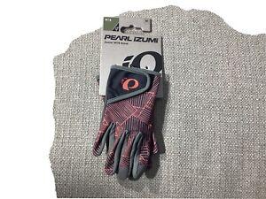 Pearl Izumi kids/Junior Cycling gloves Medium Coral