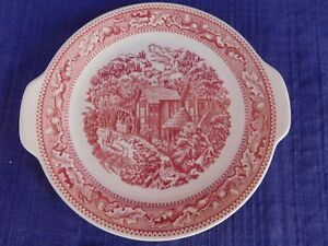 Royal Memory Lane HANDLED CAKE PLATE, PLATTER have more items to this set