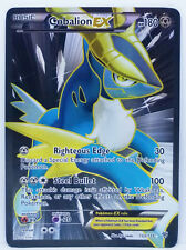 Pokemon PLASMA STORM COBALION EX #133 FULL ART HOLO FOIL CARD PLAYED