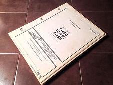 Original 1957 C-45G, TC-45G & C-45H aka Model 18 Twin Beech Service Manual