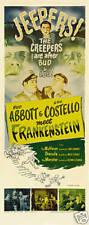 Abbott & Costello meet Frankenstein movie poster print