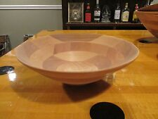 "Wooden Salad Bowl - 10"" Diameter"