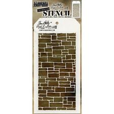 Tim Holtz Layered Stencil 10cm X 22cm -slate. Stampers Anonymous