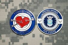 Challenge Coin United States Air Force I Love My Airman