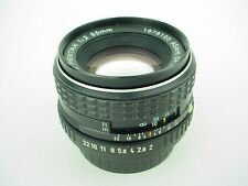 PENTAX 55mm F/2 lens SMC Asahi  Lens For Pentax SLR or DSLR
