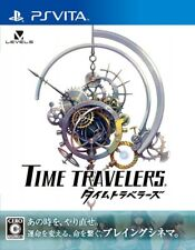 USED ps vita time travelers sony playstation