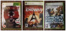 Pack 3 juegos Xbox 360 HOMEFRONT, ENDWAR y GHOST RECON