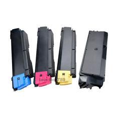 4x CompatibleTK594 Toner Cartridge BK/C/M/Y for Kyocera FSC2026MFP,  FSC5250DN