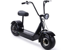 Electric Scooter Fatboy 48v 500w Hub Motor 22mph Big Fat Tire Seat Easy to Ride