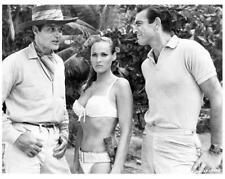 DR. NO great 8x10 still SEAN CONNERY & URSULA ANDRESS Bond film -- j256