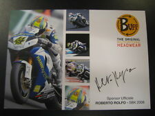 Hannspree Althea Honda CBR1000RR WSB 2008 #44 Roberto Rolfo (I)