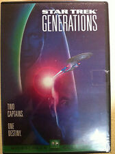 William Shatner Patrick Stewart STAR TREK GENERATIONS ~ 1994 Sci-Fi UK DVD