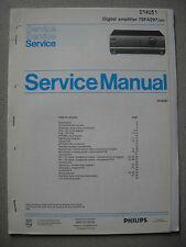 Philips 70 FA297 Verstärker Service Manual inkl. Service Info