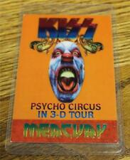 Vintage & Genuine Kiss Psycho Circus PERRI FOIL Laminated Backstage Pass MERCURY