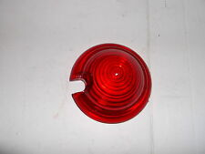 "REPLACEMENT BULLET ROUND  LENS RED FOR 21/4"" CHROME MARKER LIGHTS - BC2423 - T"
