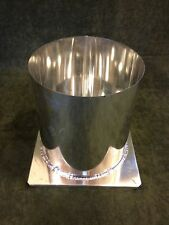 "6"" x 6 1/2"" ROUND PILLAR METAL CANDLE MOLD NEW"