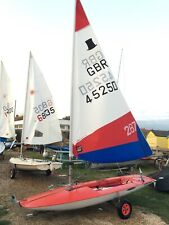 topper sailing dinghy 45250 lovely condition for age well looked after Felpham