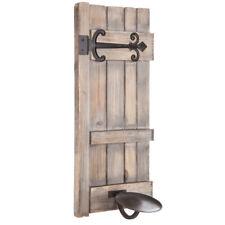 Door Distressed Wood Wall Sconce. ELEGANT LOOK HOME DECOR