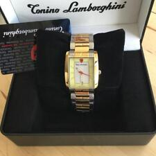 LAMBORGHINI GENTS SWISS WATCH UL67CT/C WITH TWO TONE STAINLESS STEEL