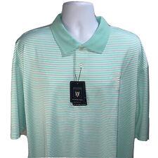 Oxford Golf Men's TurquoIse Polo Shirt Bridgestone Invitational XXL New NWT