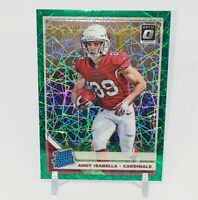 2019 Donruss Optic Green Velocity Andy Isabella Rookie RC Prizm Cardinals