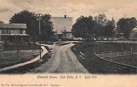 Memorial House, New Paltz, New York, Early Postcard, Unused