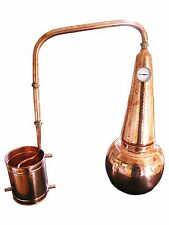 "Dr. Richter© Destille, Modell ""Whisky"" mit Thermometer, 20 Liter, aus Kupfer"