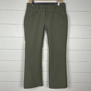 Mountain Hardwear Womens Green Size 10 Snow Boarding Ski Snow Pants