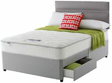 Contemporary Firm Divan Beds with Mattresses