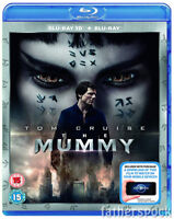 THE MUMMY [Blu-ray 3D + 2D] (2017) Tom Cruise Movie UK Exclusive 3D Release