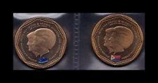 B-D-M Antillas Holandesas Set 2 Monedas 5 Gulden 2013 SC UNC