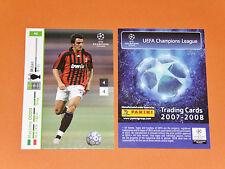 ODDO AC MILAN CALCIO ITALIA FOOTBALL CARDS PANINI CHAMPIONS LEAGUE 2007-2008
