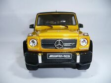 MERCEDES-BENZ G63 G 63 AMG W463 SOLARBEAM CRAZY COLOURS 1:18 GT-SPIRIT DEALER