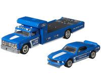 Hot Wheels Team Transport 69 Ford Mustang Boss 302 Retro Rig Kid Diecast Toy Car