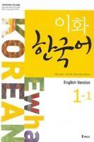 Ewha Korean Language Book 1-1 English version For Student Conversation Adult_IA