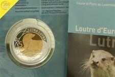 5 Euro Luxemburg 2011 Otter Flora und Fauna Serie Auflage: 3000