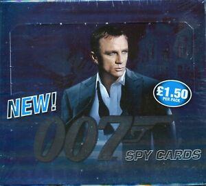 James Bond Spy Cards Conmmander Factory Sealed Trading Card Hobby Box