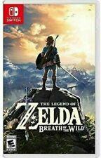 The Legend of Zelda Breath of The Wild (2017, Nintendo Switch)