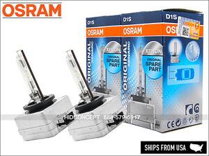 D1S Osram XENARC HID XENON Headlight Bulbs 4300K OEM DOT 66146 66144 (TWO Bulbs)