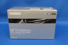 Tamron SP 70-300mm F/4-5.6 Di VC USD Lens For Canon Japan Domestic Version New