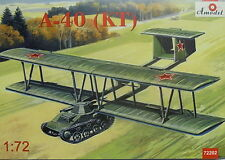 Lastensegler Antonow A-40 (KT) , 1:72, Amodel, Plastik, NEU