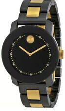 MOVADO Bold  3600233 Ceramic & Stainless Steel Band Diamond Women's Watch