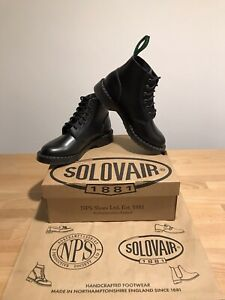 NPS SOLOVAIR Astronaut Black Leather 6 Eye Derby Boot! SizeUK6!New! Only£149.90